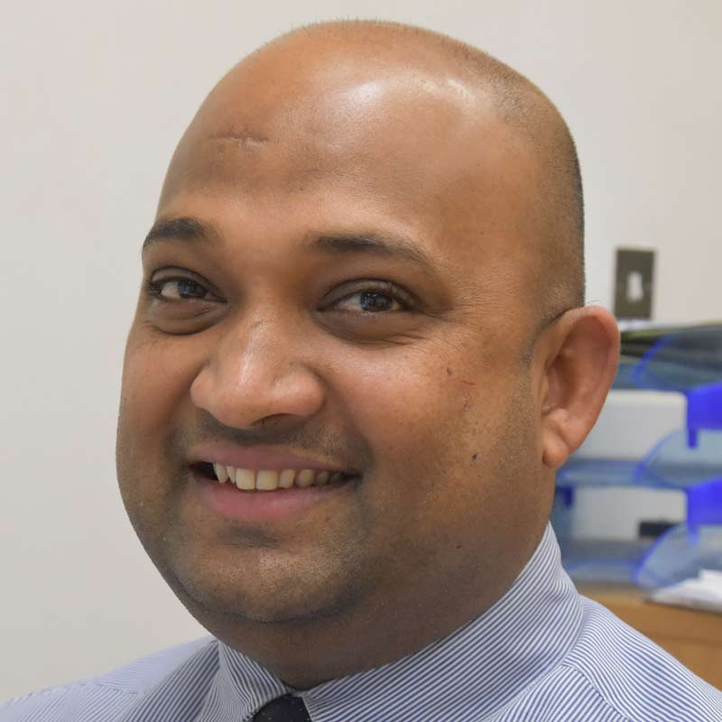 Ramesh Puvaneswaran, Property and Accounts Officer
